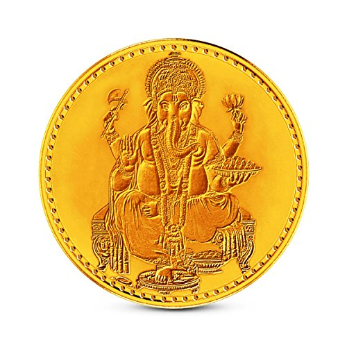 Zaamor Diamonds 2 gm, 24k (999) Yellow Gold Precious Coin  available at amazon for Rs.6709