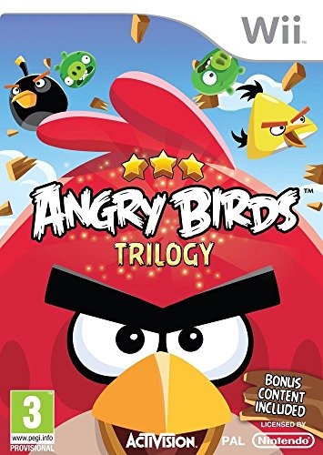 Angry Birds Trilogy (nintendo Wii)