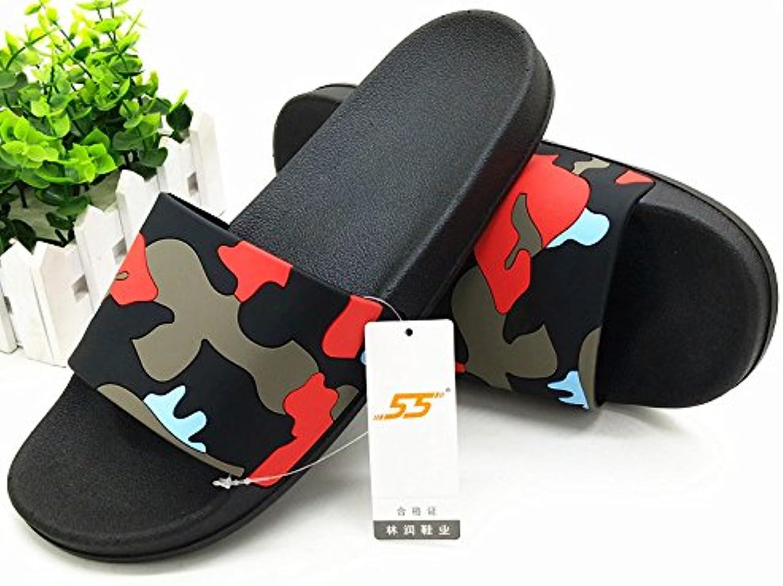 CWJDTXD Zapatillas de verano Zapatillas extra grandes 50 interiores de verano masculino más fertilizante 47 gruesas  -