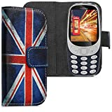kwmobile Wallet Case for Nokia 3310 3G 2017 / 4G 2018 - PU