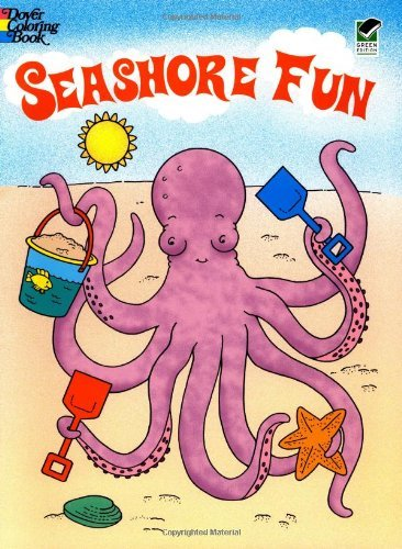 Seashore Fun (Dover Coloring Books) by Fran Newman-D'Amico (1998-06-08)