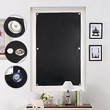 Auralum® 76 x 115 cm Revestimiento de persiana parasol para velux claraboya con estructura de azúcar sin necesidad de taladrar