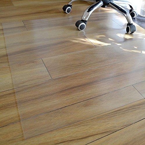lililili Transparenter PVC-Stuhl-Matte für Harte böden klar Multi-Purpose Floor Protector 1.0 mm Dicke-A 120x180cm Heimtextilien, Bad- & Bettwaren 47x71inch