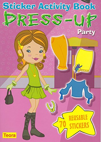 Dress-Up Party: Sticker Activity Book [With 70 Reusable Stickers] (Dress-Up Dolls)