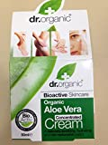 Dr. Organic. Aloe Vera Organic Concentrated Cream. Soothing, Hydrating and Rich Restorative Cream. 50ml