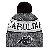 New Era NFL Sideline 2018 Bobble Mütze Carolina Panthers