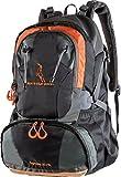 MOUNTAINBOCK Sac à dos de randonnée 40 litres en noir orange | Nylon étanche avec housse supplémentaire de protection contre la pluie | Sac à dos unisexe | Parfait pour le camping & le trekking | Sac à dos de journée sport & outdoor | édition 2018