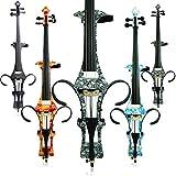 Aliyes faite à la main professionnel en bois massif électrique pour violoncelle 4/4Taille complète Silent Violoncelle électrique DT-1312