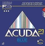 Tischtennis Belägen Donic Acuda blau P1Turbo, max, schwarz