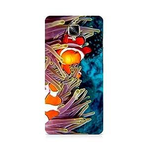 Hamee Designer Printed Hard Back Case Cover for OnePlus 3 Design 4605