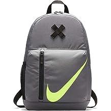 Nike Y NK ELMNTL BKPK,  Unisex, Color Dark Grey/Black/Volt, Talla OS