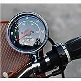 JISAM TRADE Geschwindigkeitsmesser für Fahrrad, analoger Kilometerzähler, Geschwindigkeitsmesser (km) Geschwindigkeit (km/h)