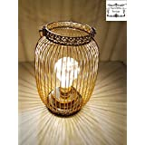 Decorative Buckets :STRING LIGHT BATTERY OPERATED JARS : EUROPEAN HANGING LANTERN WITH FAIRY LIGHT BULB : BATTERY OPERATED LIGHT METAL CAGE : Diwali Lights| Diwali Decorations | Diwali Lighting | Led Candles|EDISON BULB LAMP : Decorative Lamp | Diwali Lam