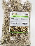 Sphaigne de madagascar - substrat végétal pour cultures hors-sol (1 Kg)