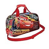 Karactermania Cars 3 Race Borsa Sportiva per Bambini, 38 cm, Rosso