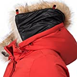 Navahoo Damen Winter-Jacke Winter-Mantel Schneeengel (vegan hergestellt) Rot Gr. S für Navahoo Damen Winter-Jacke Winter-Mantel Schneeengel (vegan hergestellt) Rot Gr. S