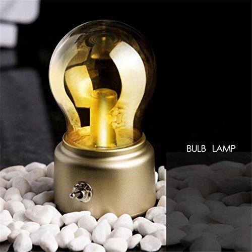BIUODY LED libro della luce di notte da letto in camera per bambini Bagno Corridoio di ricarica USB risparmio energetico notte della lampada industriale Vintage , B - 12 Intaglio Bar