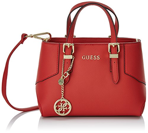Guess Isabeau, Sac à Main Rouge (Rosso)