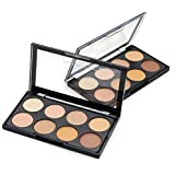 Kiss Beauty Highlighter and Contour 8 Shades Concealer Palette
