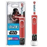 Oral-B Kids Spazzolino Elettrico Ricaricabile 1 Manico con Personaggi di Star Wars, per Età da 3...