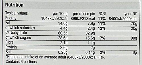 Morrisons Mince Pies, 6 pies Test