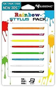 NEW 3DS - RAINBOW STYLUS PACK