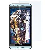 atFolix Panzerfolie für HTC Desire 820 / 820G+ Folie - 3 x FX-Shock-Clear stoßabsorbierende ultraklare Displayschutzfolie