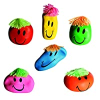 Kenzies Gifts Number One Selling Stress Relief - Funny Face Anti Stress Ball - Great Novelty Christmas, Secret Santa Gift For Men Gents Woman Ladies - 2 Supplied