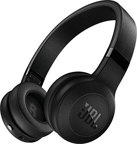 JBL C45BT On-Ear Bluetooth Kopfhörer, Leder-Kopfbügel - Schwarz -