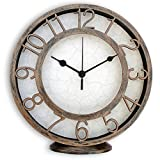 Random Clocks Antique Round Plastic Wall...