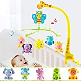 BabyGo Gifu Musical Sound Rattle Cot Mobile Rotating for Cradle and Bed Jhoomer ( No Batteries Required)