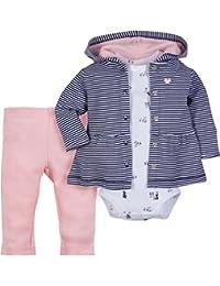 Baby 3Tlg Set *Fuchs* Hose+Jacke+Body Strampler Geschenkset 12-24 Monate