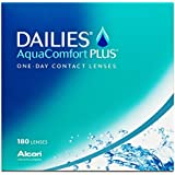 Dailies AquaComfort Plus Tageslinsen weich, 180 Stück / BC 8.7 mm / DIA 14 / -3 Dioptrien