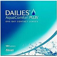 Dailies AquaComfort Plus Tageslinsen weich, 180 Stück / BC 8.7 mm / DIA 14 / -4 Dioptrien