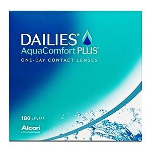 Dailies AquaComfort Plus Tageslinsen weich, 180 Stück
