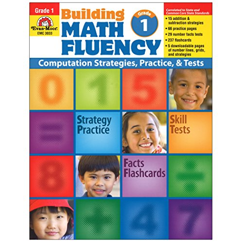 evan-moor emc3033Building Mathematische fließend Buch, Stufe 1 (Building Fluency)