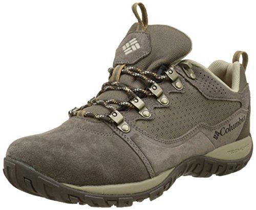 Columbia Herren Peakfreak Venture Low Suede Wp Trekking- & Wanderhalbschuhe Grau (Major/Ancient Fossil) 48 EU