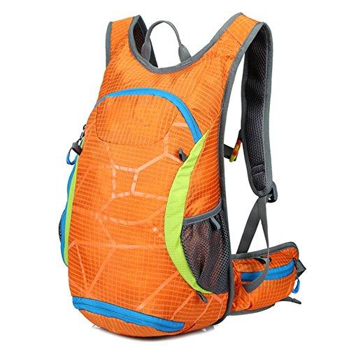 Xiuxiandianju Herbst/Winter Reiten im freien Pauschalreisen Sport Rucksack Tasche Wandern Orange
