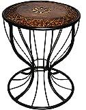 Aafiya Handicrafts Premium Quality Living Room Side Table/End Table/Stool