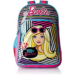 Barbie Pink and Blue Children's Backpack (Age group :3-5 yrs)