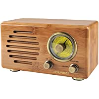 Hyundai RA 410B Radio portable Marron