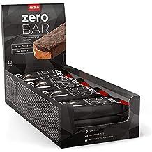 12 x Zero Bar 40 g - Bajo contenido en azúcares Brownie de dulce de leche