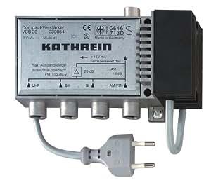 Kathrein VCB 20 amplificateur UKW/VHF/UHF 20db