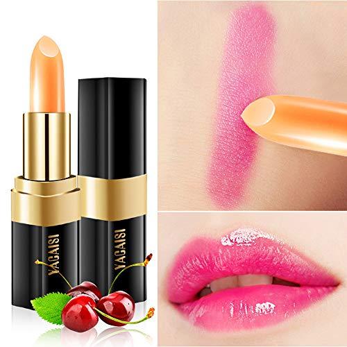 Lippenstift Clearance Lippenstift Farbwechsel Magic Transparent Blume Jelly Lip Gloss Make-up