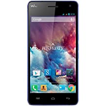 "Wiko Highway - Smartphone libre Android (pantalla 5"", cámara 16 Mp, 16 GB, ARM Cortex-A7 2 GHz, 2 GB RAM, dual SIM), azul"