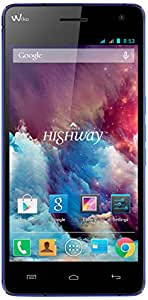 Wiko Highway Smartphone USB Android 4.2.2 Jelly Bean 16 Go Blue Electric