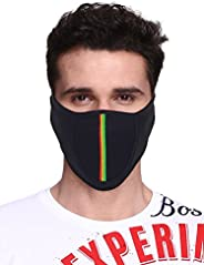 Big Tree® Pro Bike Riding & Cycling Anti Pollution Dust Sun Protecion Half Face Cover Mask (Bla