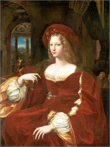 Posterlounge Hartschaumbild 60 x 80 cm: Isabel de Requesens von ()