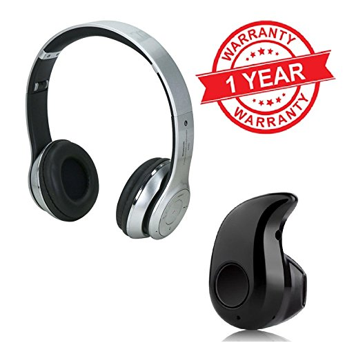 MacBerry Micromax Canvas Juice 2 Compatible Bluetooth Headphones with Mini Bluetooth Headphone  available at amazon for Rs.1439