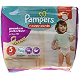 Pampers - Active Fit Pants - Couches Taille 5 (11-23 kg) - Pack Géant (x30 culottes)